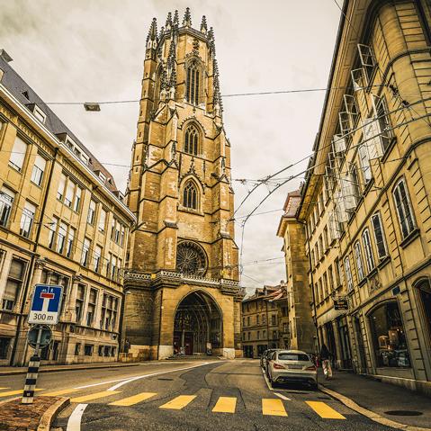 Städtereise Ausflug Schnitzeljagd Fribourg